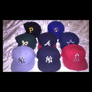 8 New Era Toddler boys fitted caps size 6 1/2